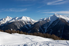 高山风景-意大利 免版税图库摄影