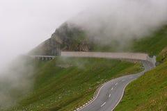 高山grossglockner公路 图库摄影