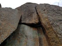 高岩石 库存照片