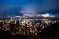 高峰香港 免版税库存图片