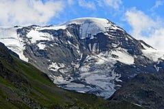 高峰Weissseespitze, 免版税库存照片