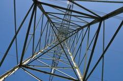 高帆柱电压 库存图片