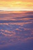 高度高skyscape 免版税图库摄影