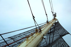 高弓的船 图库摄影