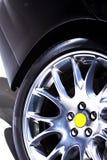 高性能轮胎冬天 免版税图库摄影