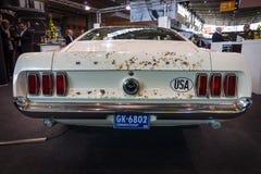 高性能Ford Mustang变形,上司429, 1969年 库存照片