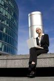 高技术世界 免版税库存图片