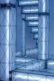 高技术光亮建筑 免版税图库摄影