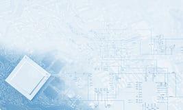 高技术概念 免版税库存照片