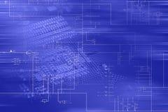 高技术概念 免版税图库摄影