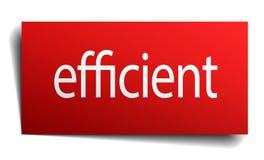 高效率的标志 向量例证