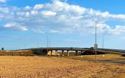 高方式桥梁在西班牙 免版税库存图片