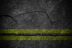 高明的柏油路纹理 免版税库存照片