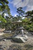 高松城堡公园,日本 免版税库存照片