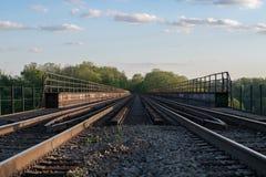 高架桥列车支架 图库摄影