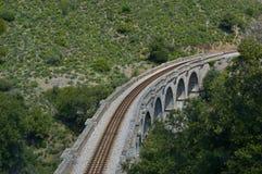高架桥在可西嘉岛 免版税库存图片