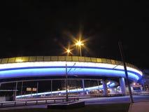 高架桥在莫斯科 图库摄影