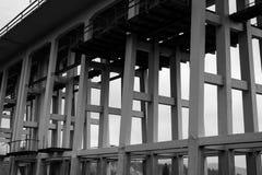 高架桥细节 免版税库存照片