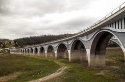 高架桥` Poiana Teiului ` 免版税库存图片