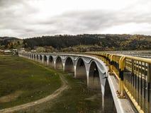 高架桥` Poiana Teiului ` 库存照片