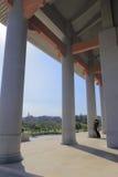 高柱子 免版税库存照片