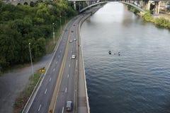 高桥梁第2部分30 免版税库存图片