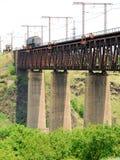高桥梁 免版税库存图片