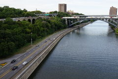 高桥梁37 免版税库存照片