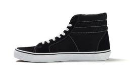 高梆的帆布运动鞋 免版税库存图片