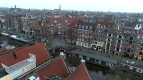 高梆的看法城市在微明下 影视素材