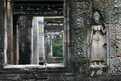 高棉寺庙 库存图片