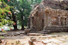 高棉老挝phu寺庙wat 免版税库存照片