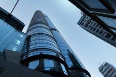 高楼在香港 免版税图库摄影