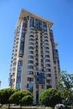 高楼在Kyiv 免版税库存图片
