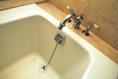 高浴缸的选件类 免版税库存图片
