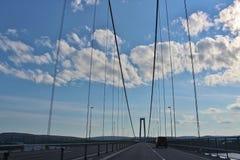 高海岸桥梁 库存图片