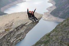 高涨挪威 免版税图库摄影
