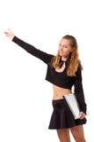 高涨栓妇女年轻人 库存图片