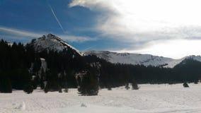 高涨路径在朱利安阿尔卑斯 图库摄影