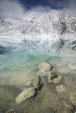 高湖mountaines 免版税库存照片