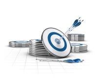 高潜在的企业概念 免版税库存图片