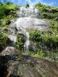 高瀑布 库存照片