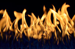 高火焰 免版税图库摄影