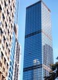 高现代办公楼玻璃外部 免版税图库摄影