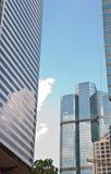 高现代摩天大楼 免版税库存照片