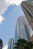 高现代摩天大楼 图库摄影