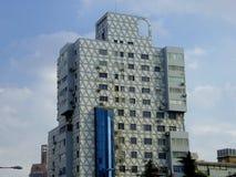 高现代大厦在上海 免版税库存图片