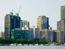 高现代大厦在上海 库存图片
