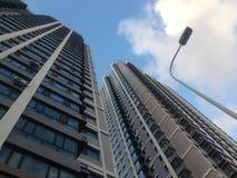 高现代摩天大楼 免版税库存图片