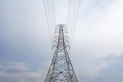 高电缆绳 免版税图库摄影